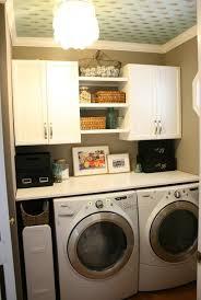 shelving ideas for laundry room storage organization white laundry