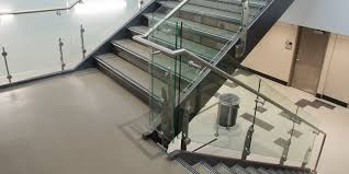 Stainless Steel Banister Stainless Steel Decorative Railing West Romig Library Viva Sabre