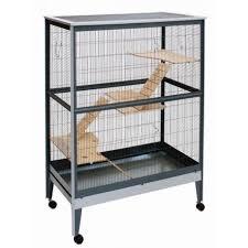gabbie scoiattoli con barre per piccoli mammiferi furetti mod 550 90 grigio