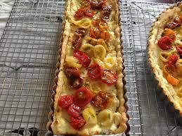goat cheese and cherry tomato tart u2013 recipesbnb