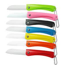 folding kitchen knives ceramic knife fruits folding knives pocket portable kitchen