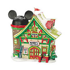 department 56 disney lit house mickey s castle