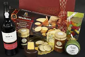 Cheese Gift Donner Port U0026 Cheese Gift Box Christmas Hampers
