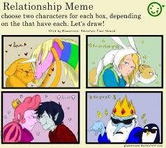 Funny Regular Show Memes - relationship meme adventure time by martiverse on deviantart