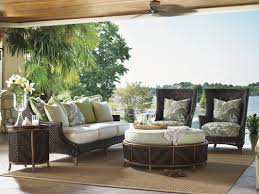 Patio Chair With Ottoman Tommy Bahama Outdoor Island Estate Lanai Wing Chair And Ottoman