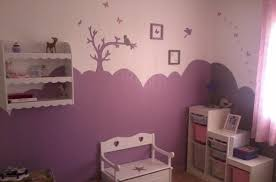 deco peinture chambre bebe garcon deco chambre bebe fille violet lzzy co