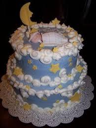 blue buttercream baby boy shower cake baking pinterest baby