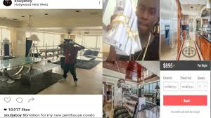 soulja boy exposed for claiming he bought a 6 000 000 penthouse