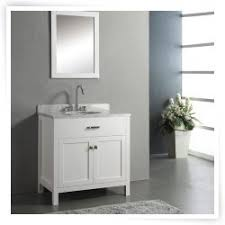 Virtu USA Caroline  In Single Sink Bathroom Vanity White Www - Virtu usa caroline 36 inch single sink bathroom vanity set