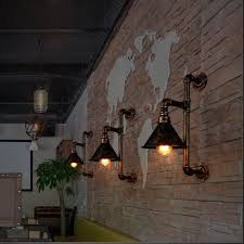 vintage pendant lights metal industrial decor loft dining room