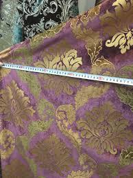Luxury Velvet Upholstery Fabric Aliexpress Com Buy Luxurious Foil Gold Velvet Damask Sofa Chair