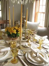 modern vs classic thanksgiving table settings design chagne