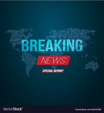 layout banner template news banner template breaking news design layout vector image