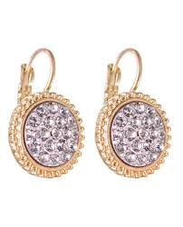 gala earrings women s evening gala fashion iridescent clip on
