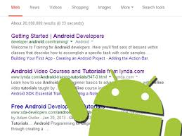 learn about android development online 6 steps