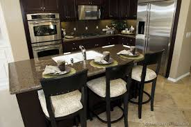 Espresso Kitchen Cabinets by Valuable 17 Kitchen With Black Cabinets On Pictures Of Kitchens