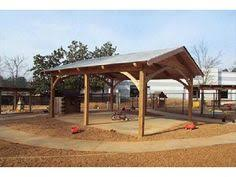 The Post  Beam Outdoor Room Barn Room And Backyard - Backyard shelters designs