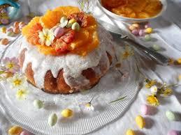 cuisine de paques le savarin nid de pâques aux oranges la cuisine de bulle