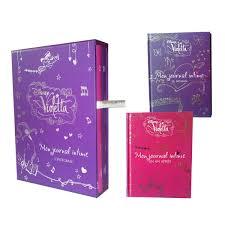 Jouet Violetta by Coffret Violetta Mon Journal Intime T1 Et T2 Pour Enfant De 8 Ans