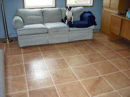 Faux Painted Floors - painting plywood wood floor faux tiles flooring painted 16 x16