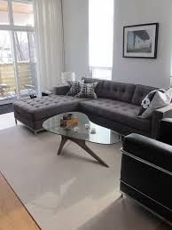 Light Grey Sectional Couch Furniture Soft Living Room Decor Sofa With Grey Sectional Couch