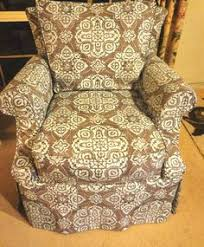 Cottage Style Slipcovers Traditional Wingback Slipcover By