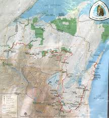 Map Of Where I Am Right Now Nomadic Newfies Grandfather Falls Segment Of The Iat