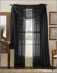 Curtains Drapes Black And White Sheer Curtain Panels Curtains Home Design