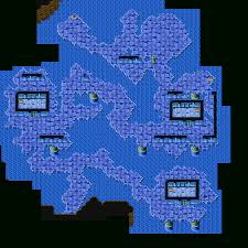 Ff6 World Of Ruin Map by Final Fantasy Advance Lifespring Grotto