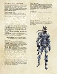 specialist 5e rogue archetype imgur