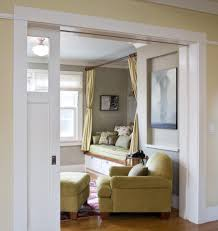 san francisco pocket door lock dining room transitional with wood