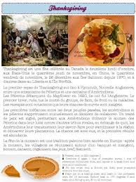 civilisation thanksgiving thanksgiving and class