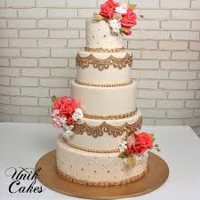 coral wedding cakes unik cakes wedding speciality cakes pastry shop