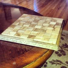 chess diy homemade craft game board for the home