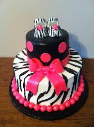 zebra themed baby shower cake pink zebra print baby shower idea