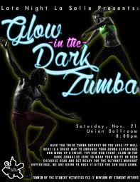 glow in the dark zumba u2013 campus activities center