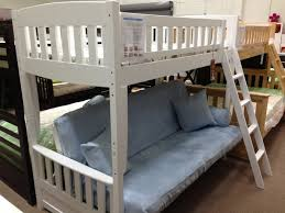 Bunk Futon Bed Wood Bunk Bed With Futon Design How To Mount A Wood Bunk Bed