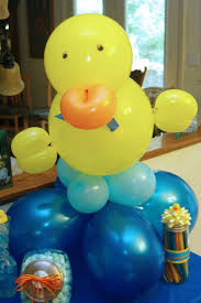 56 best baby boy shower images on pinterest blue punch recipes another cute duck balloon