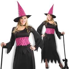 pink witch costume girls lacy pink witch costume