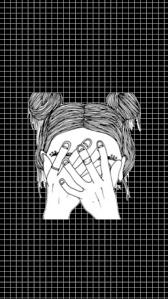 black and white grid wallpaper tumblr tumblr grid lyrics google search lockscreens pinterest