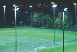 softball field lighting cost good light balance juggling performance vs pollution when it