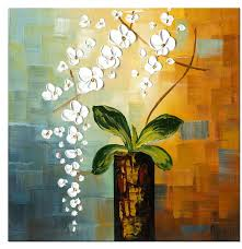 1 pc floral canvas wall art cheap oil paintings paintings for