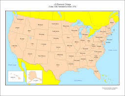 map of usa states including alaska us map with alaska to scale stock vector usa map with federal