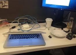 organize cords on desk 20 simple work hacks that make life at a desk easier