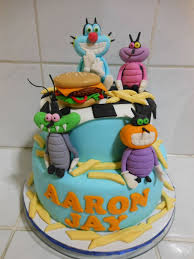 21 oggy cockroaches images cake