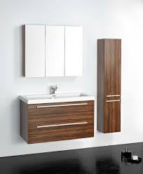 Modern Walnut Bathroom Vanity Universal Ceramic Tiles New York Vanities Modern