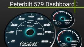 peterbilt dash warning lights interiors mods for ats ets simulator