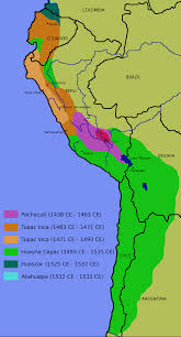 Latin America Maps by Inca Expansion 1438 U20131527 Maps Of South America Pinterest