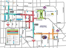 Map Of Ann Arbor Michigan Intern After Work Fine Art And Food The Ann Arbor Art Fair