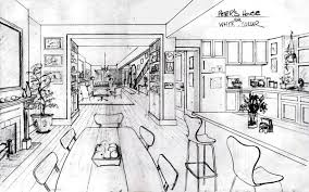 white collar images burke u0027s townhouse production sketch